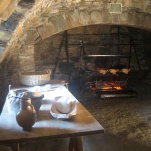 Mclellans Castle kitchens, Chalkworks/Historic Scotland 2007