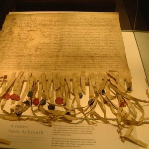 Declaration of Arbroath - Arbroath Abbey & visitor centre 2002