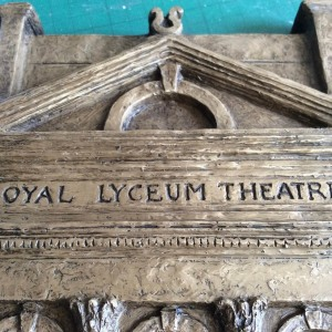 Lyceum relief model – detail 2