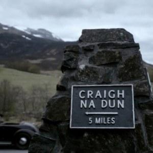 Sign for Craig-na-dun (Airex)