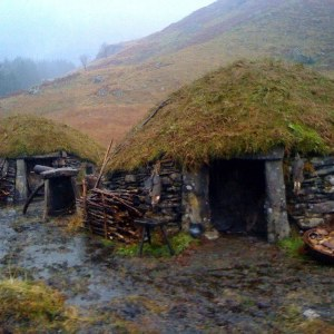 The Eagle 2011 - Huts on location