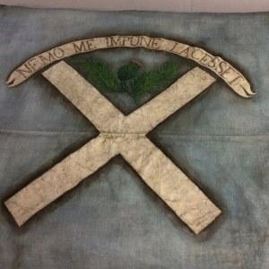 """Culloden banner """"historic"""" artefact"""