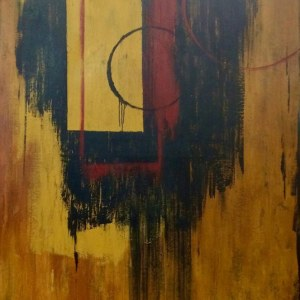 Abstract painting for set