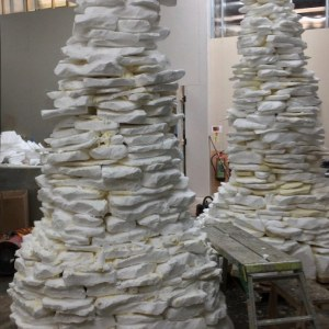 Cairns in construction – polystyrene
