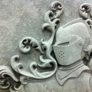 Castle Leoch arms  (detail)