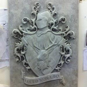 Castle Leoch plaque