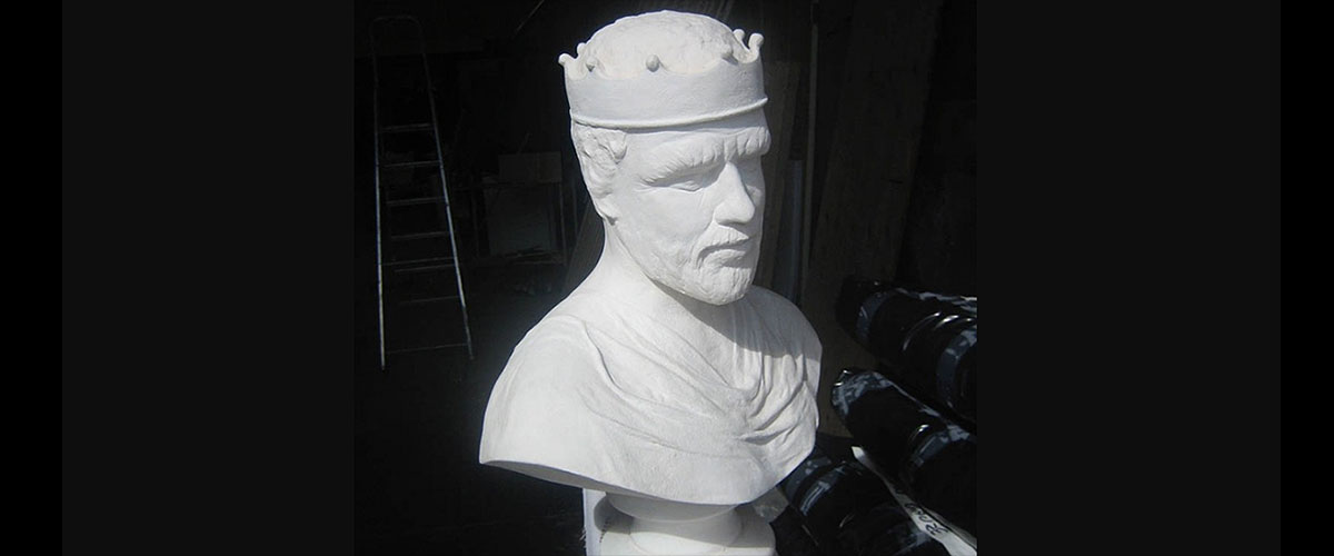 Bust - life cast from Cinderella